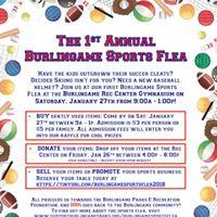 1st Annual Burlingame Sports Flea