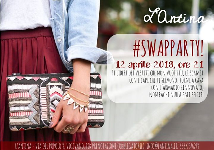 Swap party! at L Antina 28d44b03659