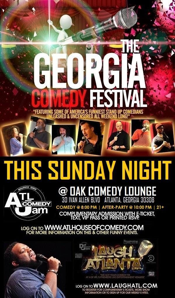 GA Comedy Fest at Oak Lounge