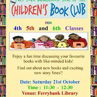 Junior Book Club in Ferrybank Library
