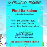 Play Pinti Ka Sabun at Times Prestigious Schools Expo - Jaipur
