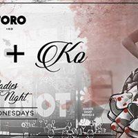 MISS KO at ToroKO Ladies Night Wednesday at City walk