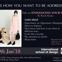 Talk on Image Consultancy