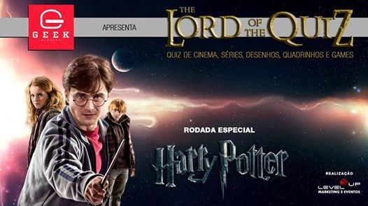 Lord of the Quiz Harry Potter  Cinema TV Games HQs etc