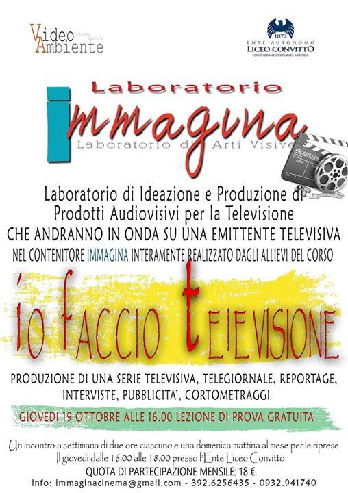 Immagina Laboratorio Di Arti Visive At Ente Liceo Convitto Modica