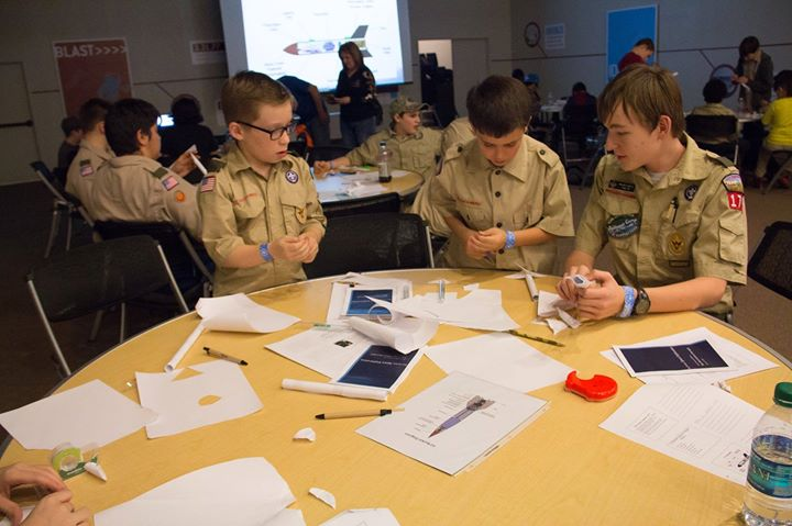 Boy Scout Astronomy Badge Class