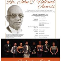 The 20th Annual Rev. John C. Holland Award