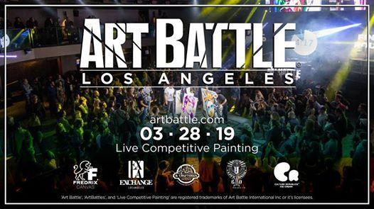 Art Battle Los Angeles - March 28 2019