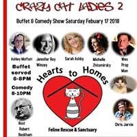Crazy Cat Ladies Buffet &amp Comedy Show