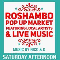 RoShamBo Pop-Up Market at Saints &amp Scholars - Raleigh