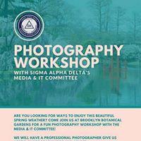 Photography Workshop at Brooklyn Botanic Garden (Sakura Matsuri)