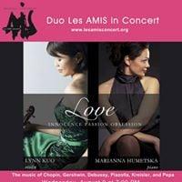 Lynn Kuo and Marianna Humetska (Duo Les AMIS) in Concert