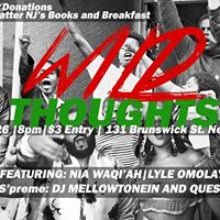 Wild Thoughts- Benefit Show for BLM Books &amp Breakfast