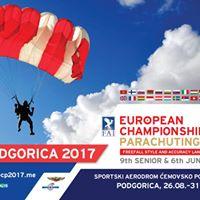 European Parachuting Championships Podgorica 2017
