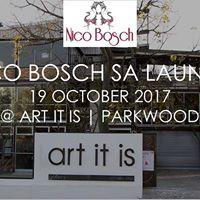 Nico Bosch Brand Launch SA