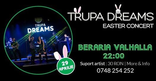 Easter Concert  Trupa Dreams in Beraria Valhalla