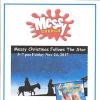 Messy Church - Messy Christmas Follows The Star