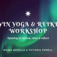 Yin Yoga &amp Reiki Workshop
