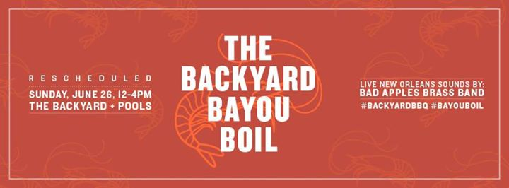 the confidante backyard bbq series bayou boil at the confidante