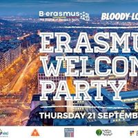 Official Erasmus Welcome Party in Brussels