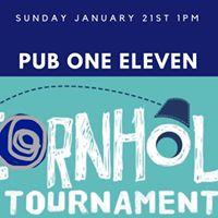 100 PM Cornhole tournament