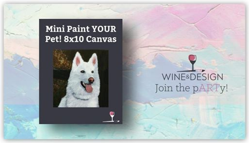 Paint Sip Mini Paint Your Pet At Wine Design Stafford Va556