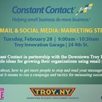 Grow Your Business With E-mail &amp Social Media Marketing