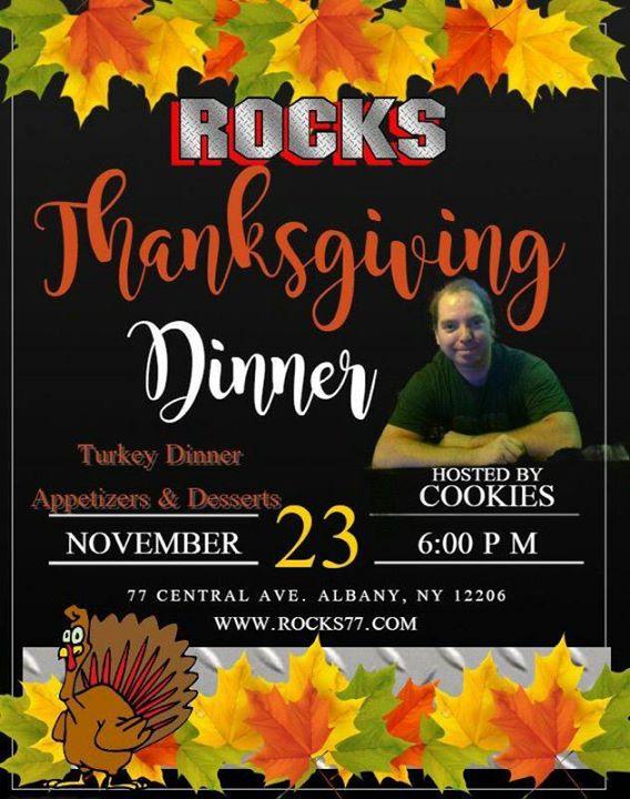 ROCKS Thanksgiving Dinner