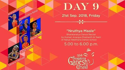 56th Bengaluru Ganesh Utsava Day 9