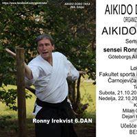 Meunarodni Aikido seminar - sensei Ronny Irekvist 6.DAN