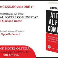 Siracusa - Presentazione del libro &quotAttacco al potere comunista&quot