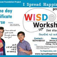 Wisdom Workshop for Boys Students at Nava Naroda Ahmedabad