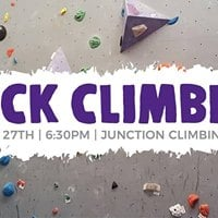 Graduate Students and Young Professionals Go Rock Climbing