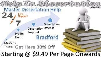 Master Dissertation Help Bradford With Students