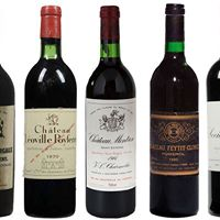 50 Years of Bordeaux Wines Grand Cru Blindtasting