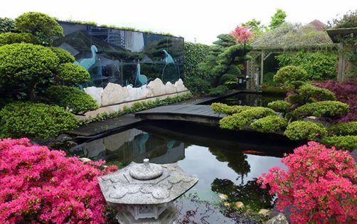 Japanse tuin en jenevermuseum