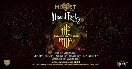 The Ritual with Anan & Louie Vega at Heart Factory