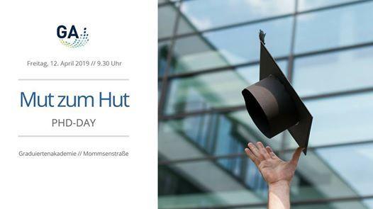 MUT ZUM HUT - PhD Day