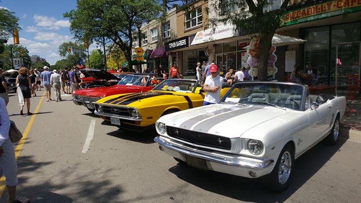 Burlington Downtown Car Show At Brant St Burlington ON LR Canada - Car show downtown