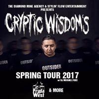 Cryptic Wisdom Spring Tour - Belleville