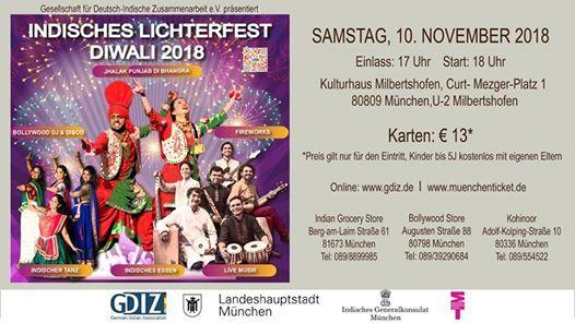 Diwali - Indian Festival of Lights  Indisches Lichterfest 2018