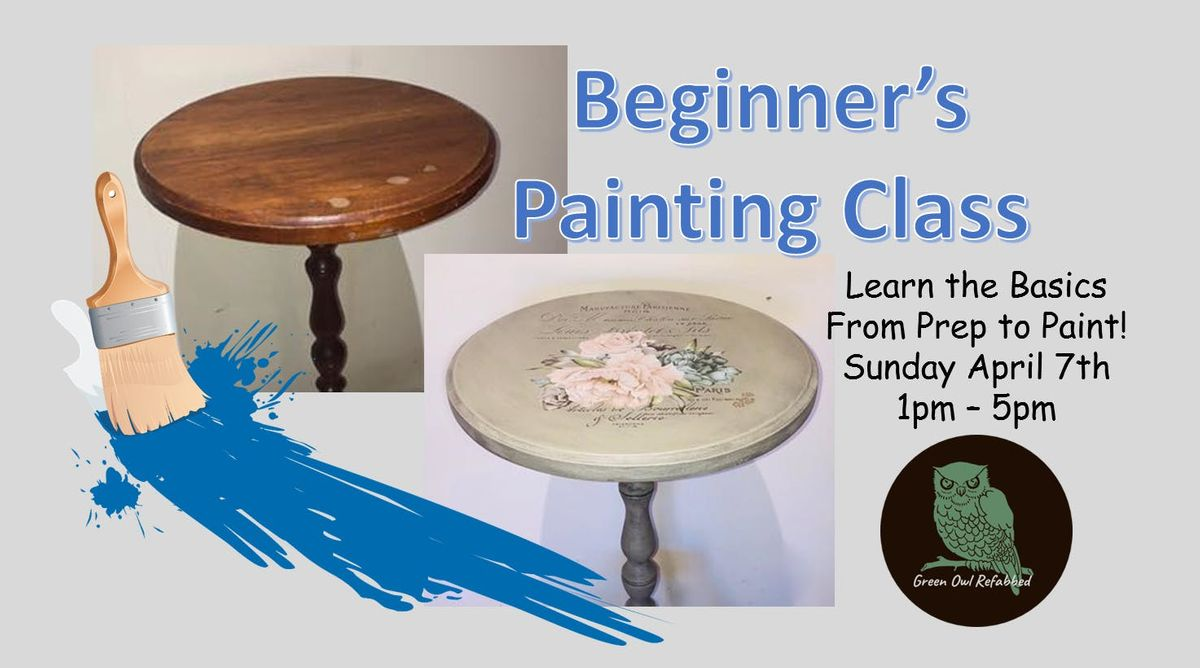 Bring Your Own Junk Chalk Painting Class (Sunday)