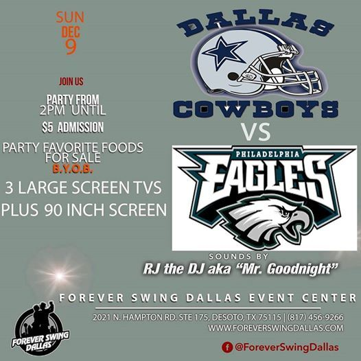 Cowboys Watch Party at Forever Swing Dallas Event Venue2021 N ... 1cc37e4d9d9