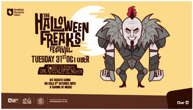 The Halloween Freaks Festival 2017 Sold Out
