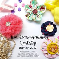 Hair Accessory Making Workshop