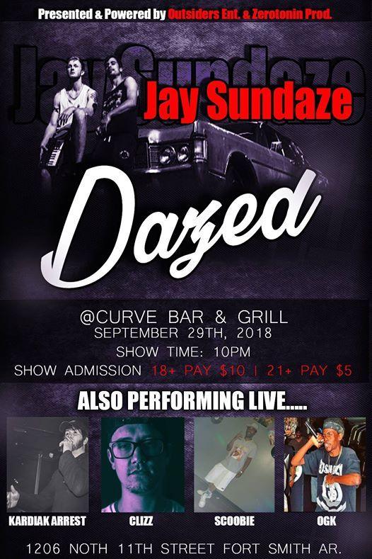 Dazed Rap/Hip-Hop Show at Curve, Fort Smith
