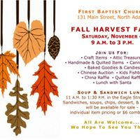 FBCNA Fall Harvest Fair