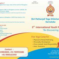 International Youth Yoga Camp At Mangalore