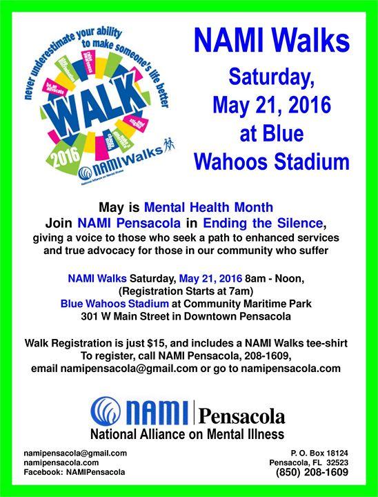 Nami Pensacola Walk At Blue Wahoos Stadium At Maritime