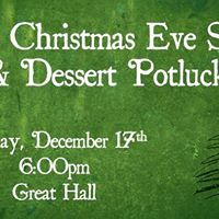 Early Christmas Eve &amp Dessert Potluck